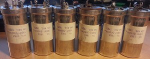 MLA-2500 original capacitors